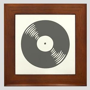 music p 116-Mus gray Framed Tile