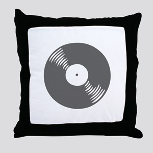 music p 116-Mus gray Throw Pillow