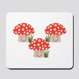 Forest Mushrooms Mousepad
