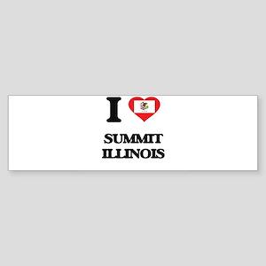 I love Summit Illinois Bumper Sticker