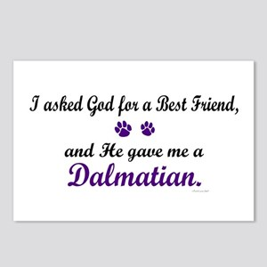 God Gave Me A Dalmatian Postcards (Package of 8)