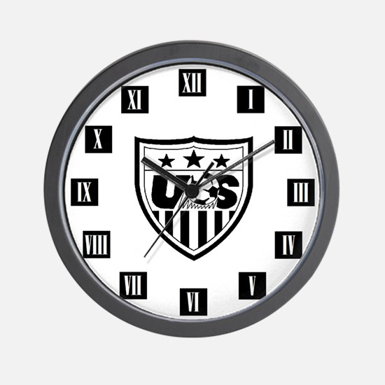 us soccer watch Wall Clock
