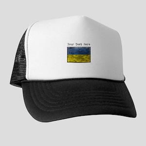 Dirty Ukraine Flag (Custom) Trucker Hat