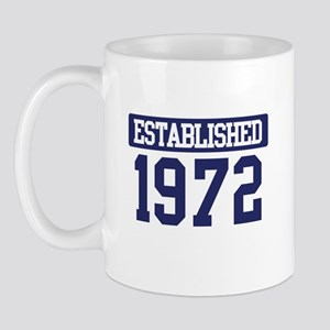 Established 1972 Mug
