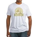 Lucky Duck Men's Fitted T-Shirt