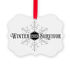 Winter 2015 Survivor Ornament