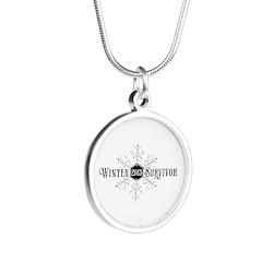 Winter 2015 Survivor Silver Round Necklace