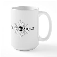 Winter 2015 Survivor Large Mug