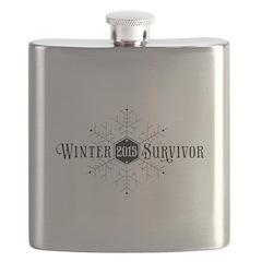 Winter 2015 Survivor Flask