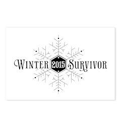Winter 2015 Survivor Postcards (Package of 8)