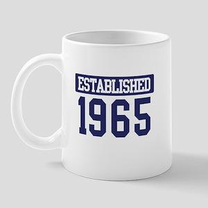 Established 1965 Mug