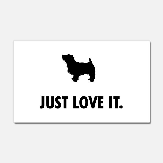 Norfolk Terrier Car Magnet 20 x 12