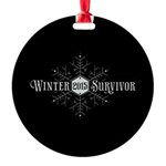 Winter 2015 Survivor Round Ornament