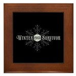 Winter 2015 Survivor Framed Tile