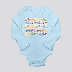 rainbow bicycles Body Suit
