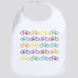 rainbow bicycles Bib