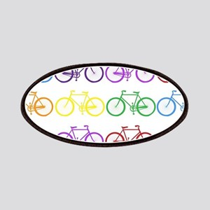 rainbow bicycles Patch