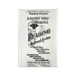 Reading Railroad System 1894 Rectangle Magnet (10