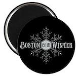 Boston 2015 Winter Magnet