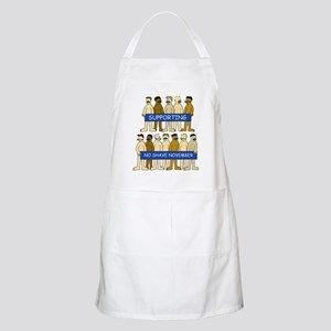 Supporting No Shave November Apron