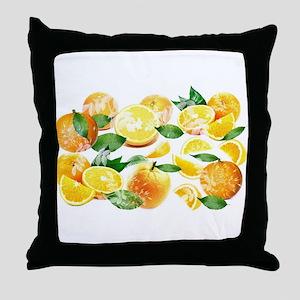 Bitter Oranges from Amalfi Throw Pillow