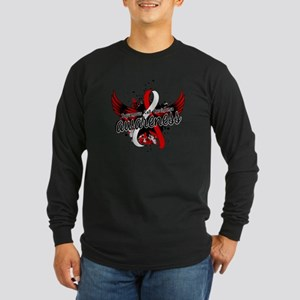 Squamous Cell Carcinoma A Long Sleeve Dark T-Shirt