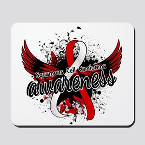Squamous Cell Carcinoma Awareness 16 Mousepad