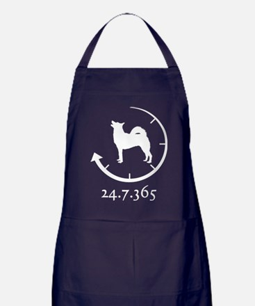 Norwegian Buhund Apron (dark)