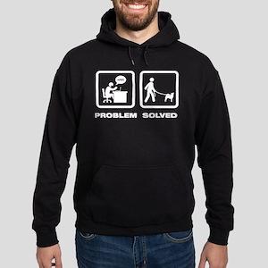 Norwegian Buhund Hoodie (dark)