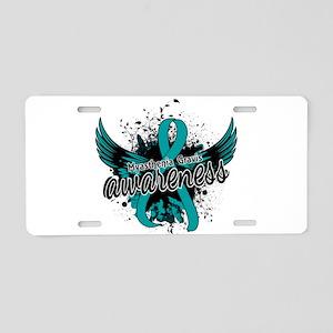 Myasthenia Gravis Awareness Aluminum License Plate