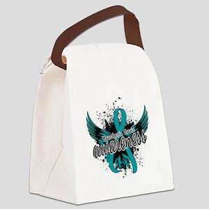 Myasthenia Gravis Awareness 16 Canvas Lunch Bag