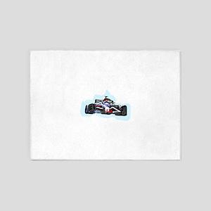 Racing Car 5'x7'Area Rug