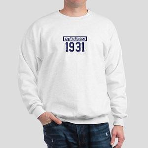 Established 1931 Sweatshirt