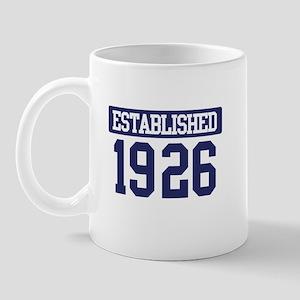 Established 1926 Mug