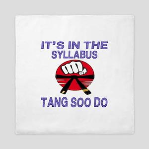 It's in the Syllabus Tang Soo Do Queen Duvet