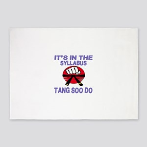 It's in the Syllabus Tang Soo Do 5'x7'Area Rug