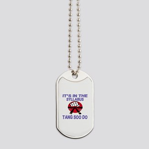 It's in the Syllabus Tang Soo Do Dog Tags