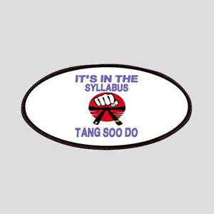 It's in the Syllabus Tang Soo Do Patch
