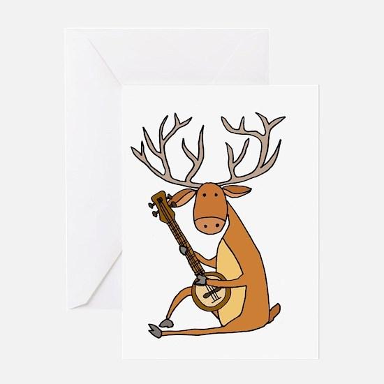 Animal humor Greeting Card