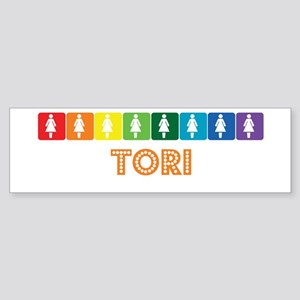 Lesbian Tori Bumper Sticker