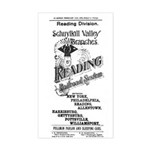 Reading Railroad System 1894 Rectangle Sticker