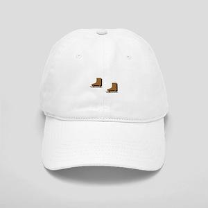 Brown Ice Skates Cap