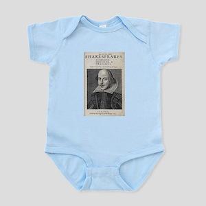 William Shakespeare Portrait Body Suit