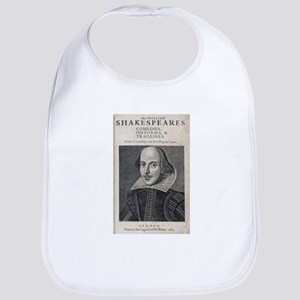 William Shakespeare Portrait Bib