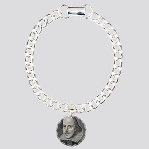 William Shakespeare Port Charm Bracelet, One Charm