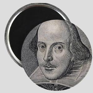 William Shakespeare Portrait Magnets