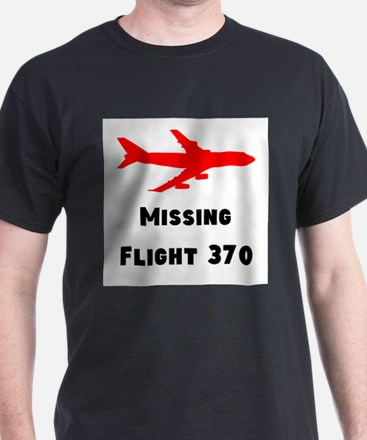 Missing Flight 370 T-Shirt