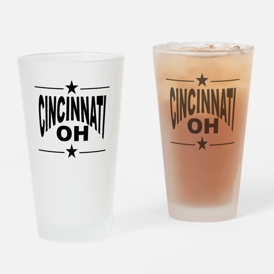 Cincinnati OH Drinking Glass