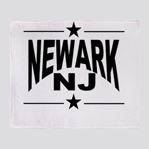 Newark NJ Throw Blanket