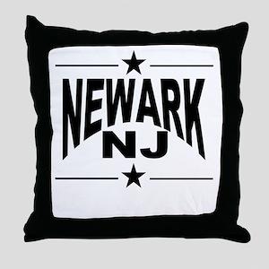 Newark NJ Throw Pillow